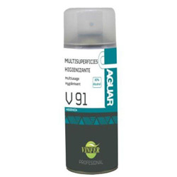 AEROSOL HIGIENIZANTE MULTISUPERFICIES 80% ALCOHOL 400 ML 12UDS
