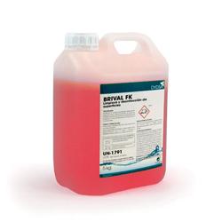 DESINFECTANTE REGISTRO HA BRIVAL FK 5L. Benzalkonium chloride superior al 0.05%. Efectivo virus corona.