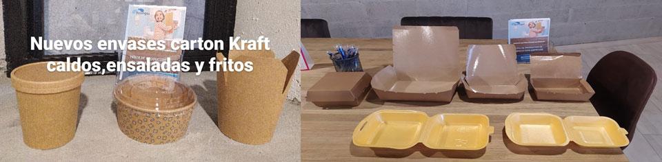 Envases Cartón Kraft ecológicos